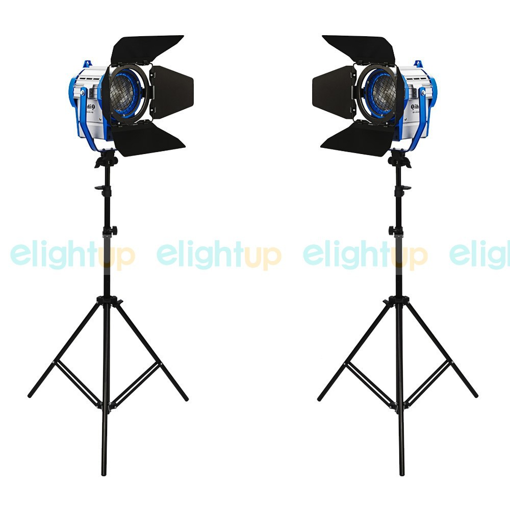 Studio Fresnel Tungsten Continuous Lighting Kit with Light Stand as ARRI 2000W PSK10A2<br><br>Aliexpress