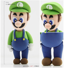 DIY color clay mud plasticine Louis Luigi Action figures learning & education classic toys Christmas gift