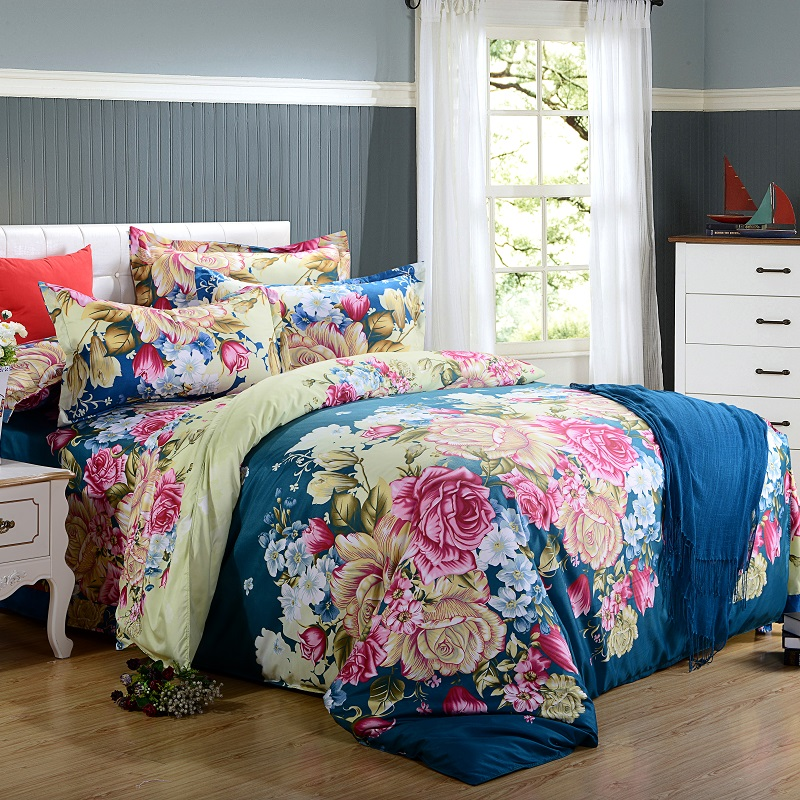 Model home bedspreads
