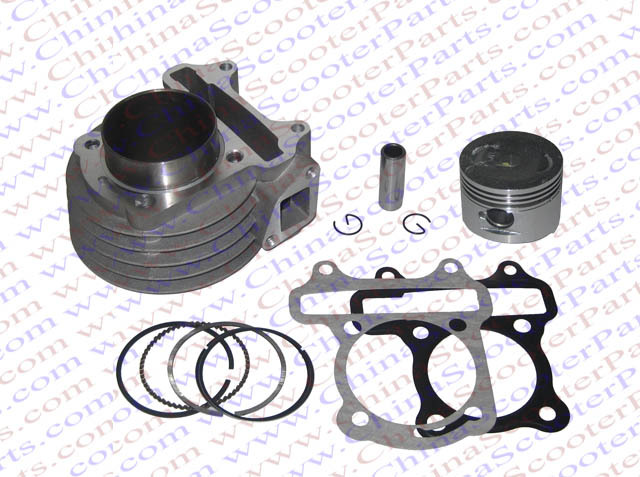 Performance 50MM Cylinder Piston Ring Gasket Kit(Big Bore Kit) GY6 100CC 82ML Jmstar Yiying Wangye Baotian Sunny Keeway Scooter<br><br>Aliexpress
