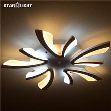 flush mount modern light for living room Acrylic Bicolor light guide plate chandelier avize Home Lighting(China (Mainland))
