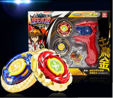 Super Hot Spinning Top Metal Beyblade, Kids Play Toy Classic Spinning Top Set Metal Battle Beyblade Children Toy(China (Mainland))
