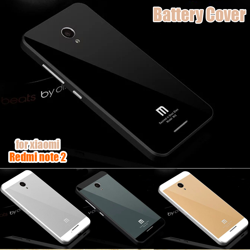 For Xiaomi Redmi Note 2 Hard Plastic High Quality Cheap Plastic Frame + PC Battery Case Back Cover for Xiaomi Hongmi Note 2(China (Mainland))