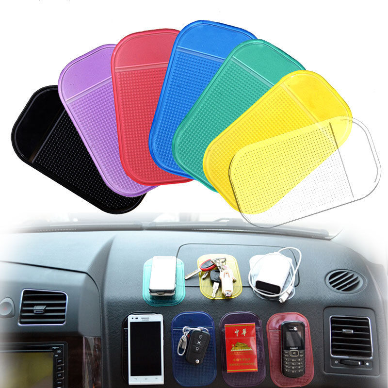 Automobiles Interior Accessories GPS Anti Slip Car Magic Grip Sticky Pad Anti Non Slip Mat Dash Cell Phone Holder Candy Color(China (Mainland))