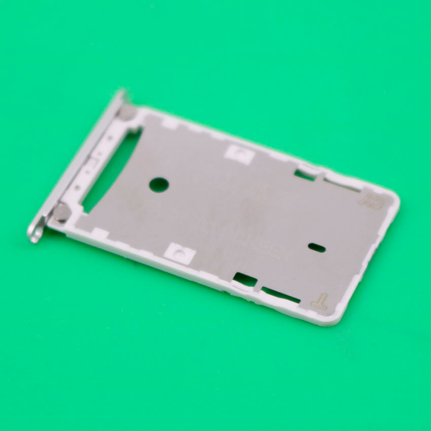 SIM Card Slot Holder for Xiaomi Redmi 3 3S Micro SD Card Slot Tray Socket Adapter Replacement Repair Spare Parts Silver