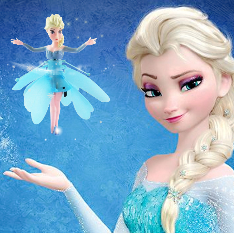 Fashion cartoon children Toys Flying Induction,Ice Princess doll Theme Music Dolls,Toys Brinquedos baby Kids Dolls for boy&Girl(China (Mainland))