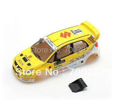 1/28 2WD 2.4G miniz radio control car painted body shell(China (Mainland))