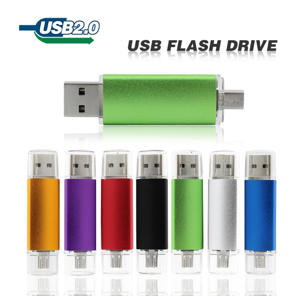 USB Flash Drive 64gb New Smart Phone Tablet PC pen drive OTG 32gb 16gb 8gb 4gb usb drive memory stick usb 2.0 pendrive(China (Mainland))