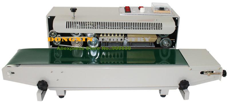 Automatic Horizontal Continuous Plastic Bag Band Sealing Sealer Machine FR770 110V/220V  -  Liyo electric Co., Ltd store