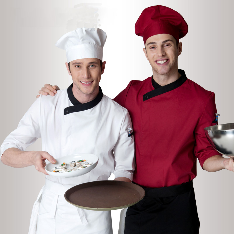 how to clean chef uniform