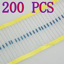 Lot 200 PCS Resistors 1/4W Metal Film 1 10 22 47 68 100 1K 10K 22K 47K 68K 100K 150K 220K 390K 470K 680K