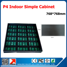 Buy TEEHO RGB full color p4 led modules indoor led display cabinet 768*768mm cabinet LED display screen p4 indoor mounting wall for $698.00 in AliExpress store