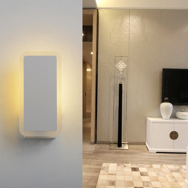 Wall Lamps Beside Bed : wall light AC85 265V Modern beside wall mounted lamp High Quality 6W Household Bed Room ...