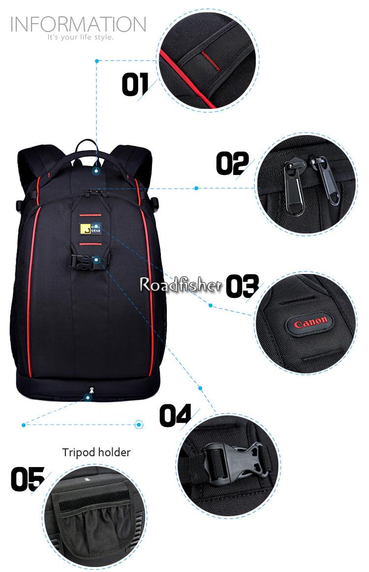 Professional Camera Backpack Bag NG--8