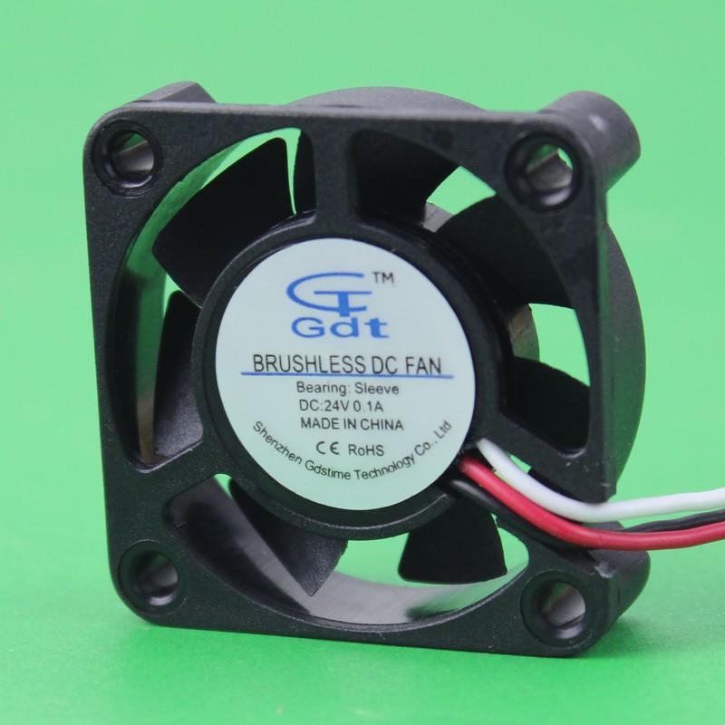 Здесь можно купить  GDT 500PCS/LOT DC 3Pin 24V 4cm 40mm  4010S  40mmx40x10mm cooler cooling fan GDT 500PCS/LOT DC 3Pin 24V 4cm 40mm  4010S  40mmx40x10mm cooler cooling fan Компьютер & сеть
