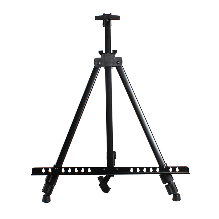 Collapsible iron sketching easel high-quality metal sketch painting frame, triangle display<br><br>Aliexpress