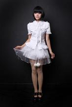 Blasting models show thin summer wear new  lolita touch your miniskirt J020039