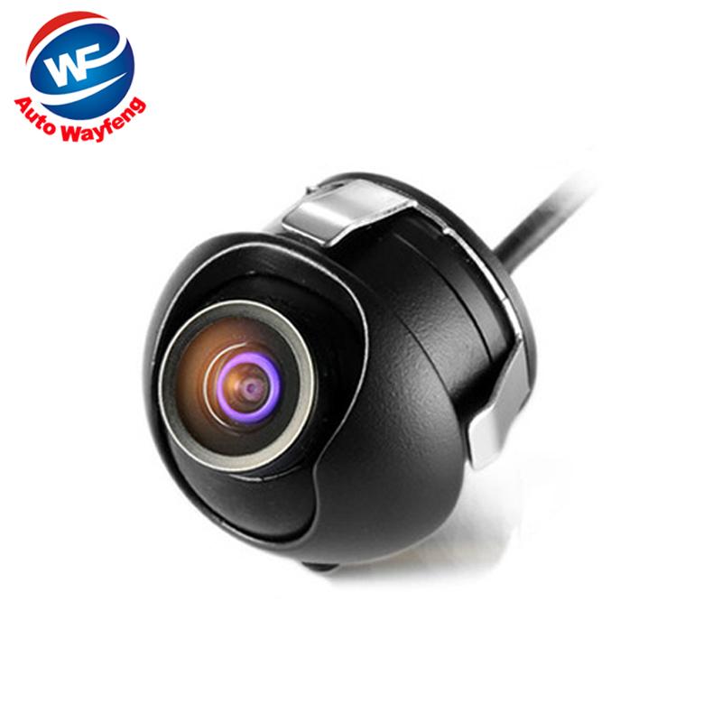 Factory Promotion CCD HD night vision 360 degree car rear view camera front camera front view side reversing backup Camera WF(China (Mainland))