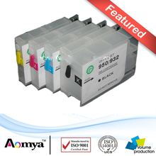 Empty Refillable ink cartridge hp933/932  For HP Officejet 7110(H812a)/7610 HP6100 HP6600 HP6700 with chips