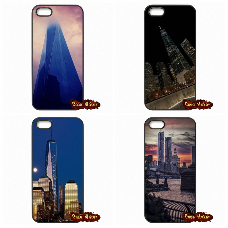 One World Trade Center NYC Freedom Tower Cover Case For iPhone SE Xiaomi Mi3 Mi4 Redmi Note 2 3 Samsung Galaxy Alpha Ace 2 3 4(China (Mainland))