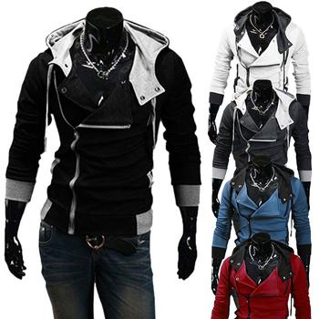 Зимние и осенние мода толстовки бренд мужчин свободного покроя спортивной мужской толстовка на молнии длинным рукавом толстовка Большой размер 5XL