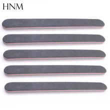 5pcs Black Nail Art Styling tools Sanding Nail File Buffer For Salon Manicure UV Gel Polisher Tool Nail Files Wholesale(China (Mainland))