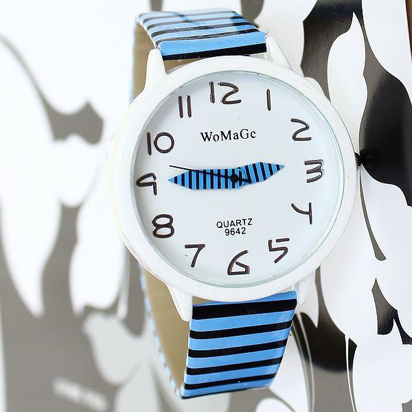 Watch Woman Fashion Casual Brand Quartz Watches Women's Cartoon relogio girls reloj Round Analog feminino Stripes Wristwatches - Hangzhou Magic Trading Co.,Ltd store