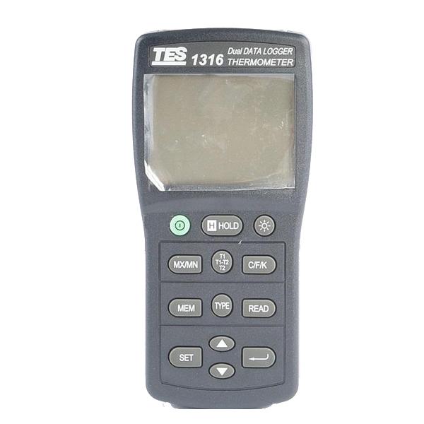 TES-1316 K.J.E.T.R.S.N. Digital Thermometer Recorder(China (Mainland))