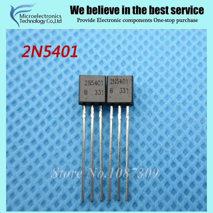 10 2N5401 Bipolar Transistors - BJT PNP Gen Pr Amp TO-92 new original  -  Microelectronics Technology Co., Ltd. store