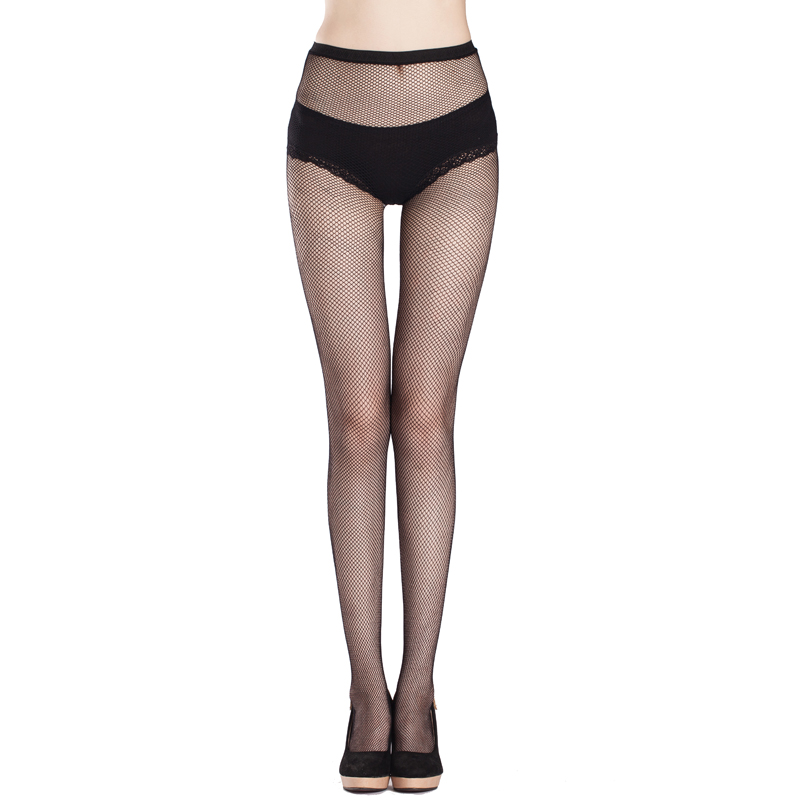 2016 Ultrathin sexy women tights stockings Top Sheer Thigh High Silk Stockings solid Fishnet Mesh Pantyhose stocking night club(China (Mainland))