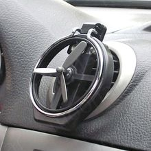 Moodeosa Universal Auto Car Wind Air Outlet Mount Bottle Drink Cup Holder Silver Free shipping &wholesale
