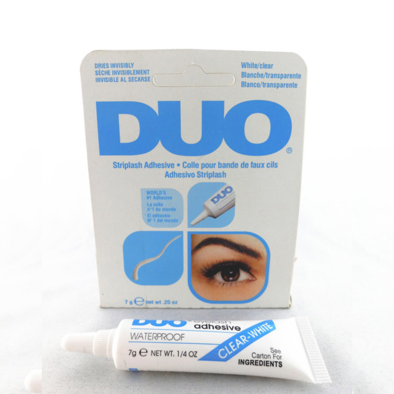 2pcs Water Proof False Eyelash Extension Glue Adhesive Eyelash Glue For Fake Eyelashes Lashes For Building Dark/White Maquiagem(China (Mainland))