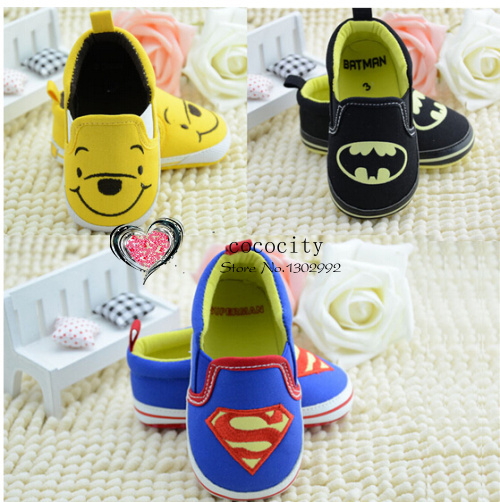 1 pcs Retail cartoon baby shoes boys girls summer spring autumn newborn infant(China (Mainland))