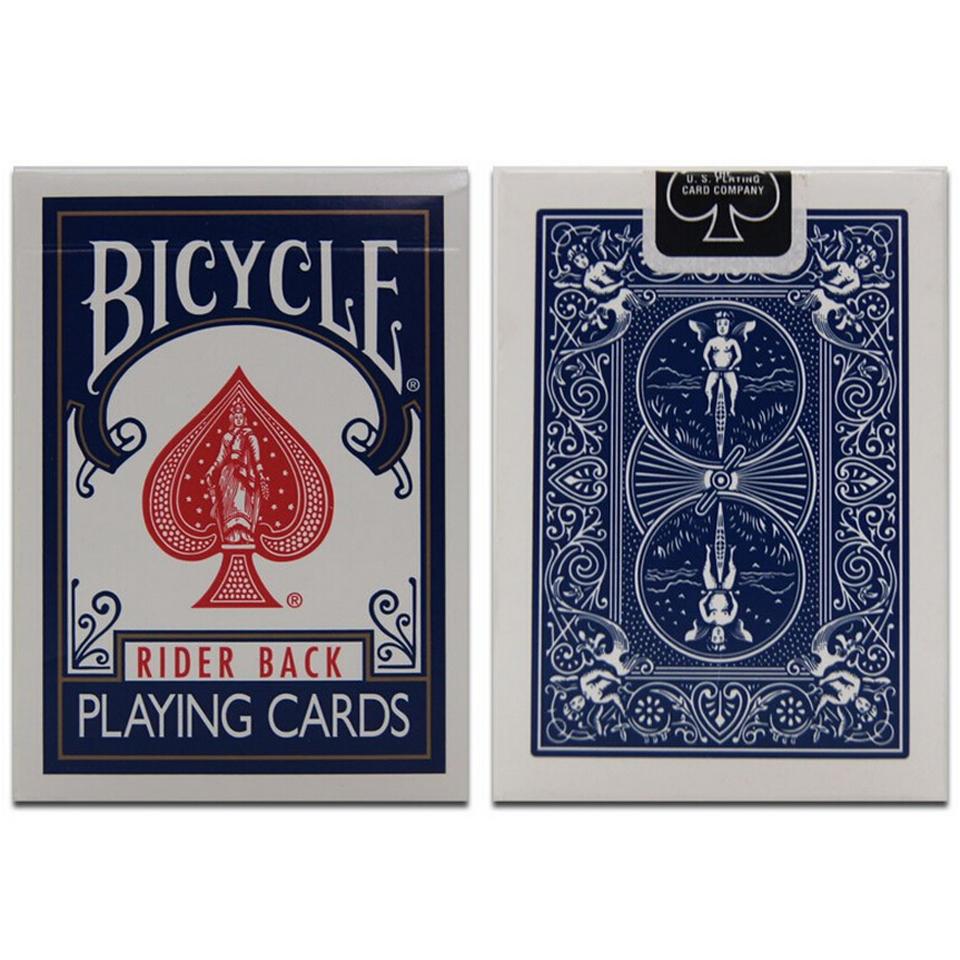 Original Bicycle Poker 1 pcs Blue or Red Bicycle Magic Regular Playing Cards Rider Back Standard Decks Magic Trick Free Shipping(China (Mainland))