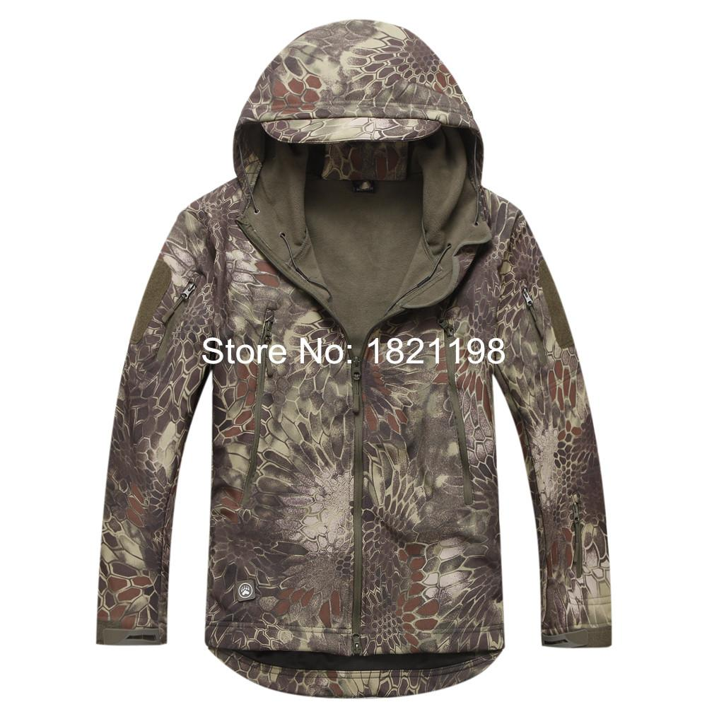 Free shipping New Style TAD Soft Shell of the Skin of the Shark Skin Jacket Python Pattern Jackets<br><br>Aliexpress