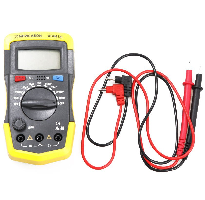 In Circuit Capacitor Tester : New xc l capacitance capacitor tester meter in