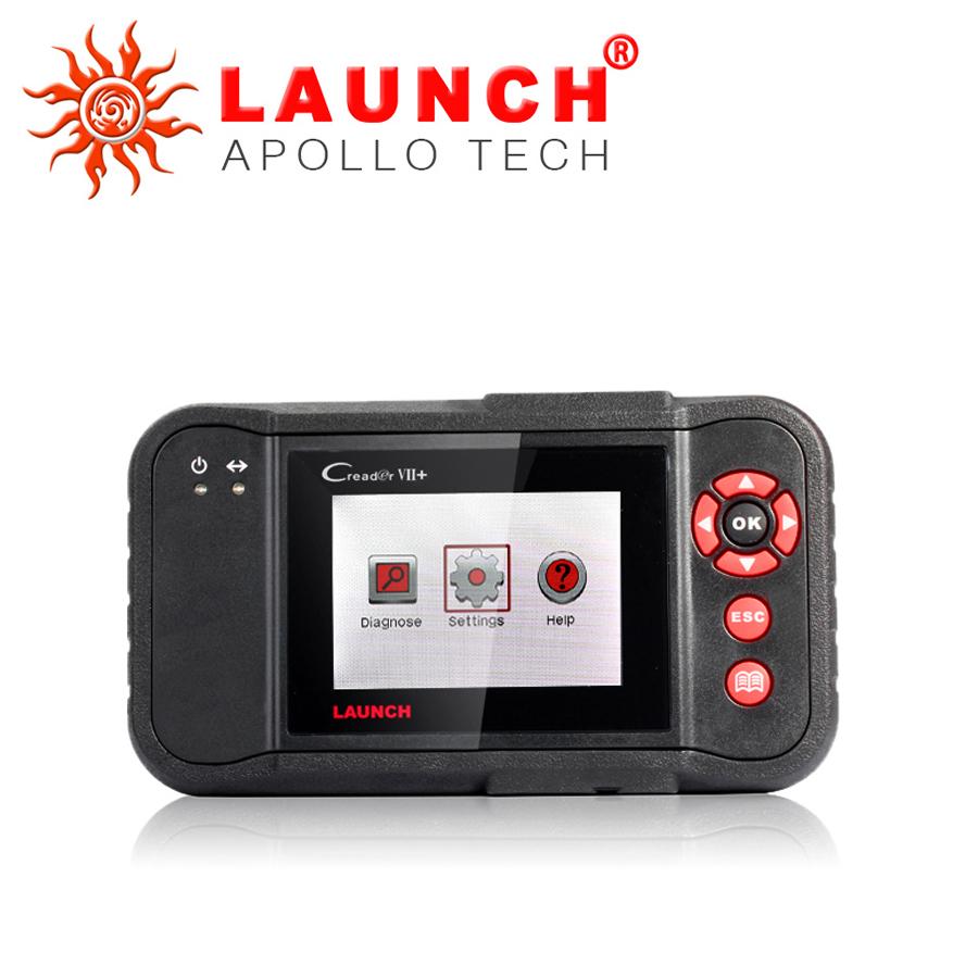2015 New Arrival LAUNCH Creader VII+ Original Launch Creader 7 plus New Model Auto Scanner Internet Update(China (Mainland))