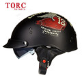 New arrival TORC T 55 motorcycle half helmet retro scooter helmet vintage open face helmet Cool