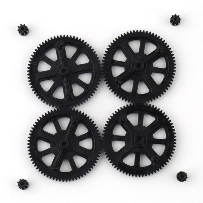 Upgrade Motor Pinion Gear Gears&Shaft Replacement for Parrot AR Drone 1.0 2.0