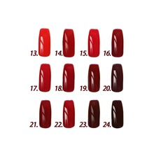 Free shipping!12pcs Inail UV red color Gel Nail Polish 15ml 16 colors for choice  Red Wine Series!