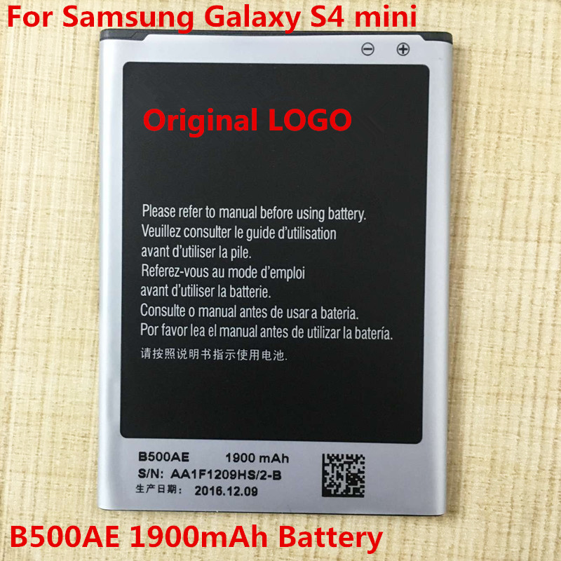 20pcs 1900mAh B500AE battery Samsung Galaxy S4 IV mini I9190 I9192 I9198 B500AE battery I9190 battery Free