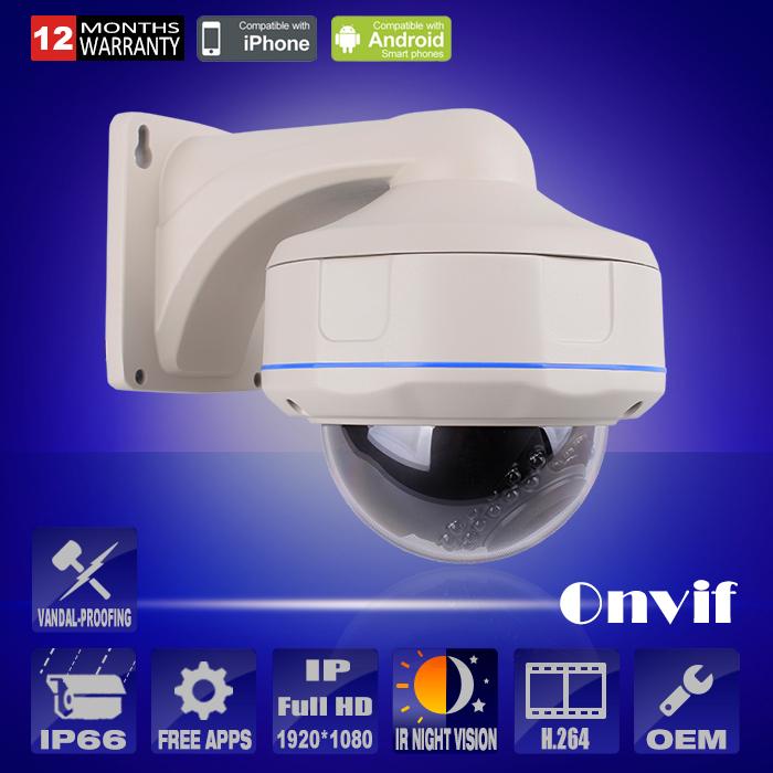 P2P 1080P IP Camera Outdoor IR Night Vision HD H.264 Video Remote Network CCTV Camera Security Vandal-proof Surveillance Camera(China (Mainland))