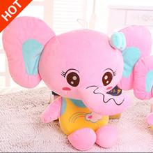 40cm super cute elephant stuffed animal doll elephant plush toy doll pillow children girl students graduated day gift