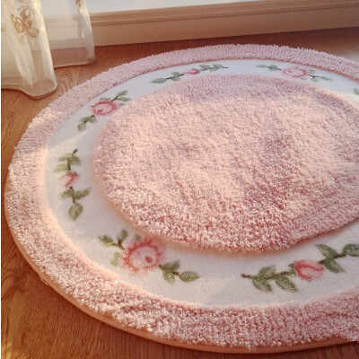 tapis de salle de bain aliexpress acheter s amp v romantique rural rose tapis de - Tapie Salle De Bain Aliexpress