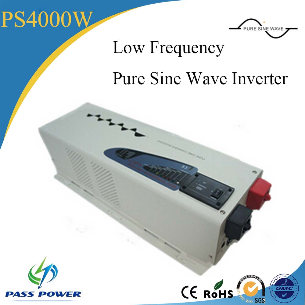 Low frequency 24v 220v pure sine wave inverter 4000W house power inverter(China (Mainland))