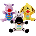 22cm New Lovely Gift Plush Hippo Little Pets Night Light Fill Soft Toys 0 12 Months