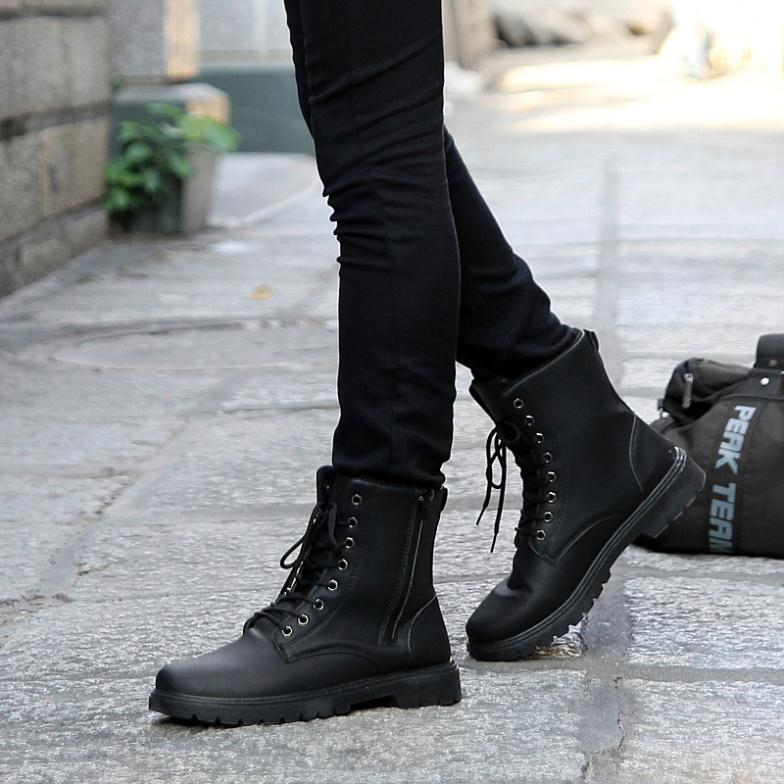 Unique Fabulous Black Mens Combat Boots  Gorgeous Combat Boots For Women Photo Gallery | Woman Fashion ...