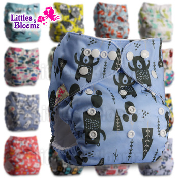 Baby Washable One Size Cloth Nappy Reusable Pocket Diaper Inserts Available Suit 0-3 years 3-15kg One Size