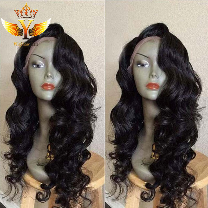 Cheap Super Wavy Full Lace Wig Peruvian Virgin Full Lace Human Hair Wigs Glueless Lace Front Wig With Baby Hair For Black Women<br><br>Aliexpress
