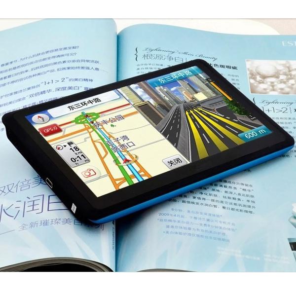 NEW Cheap 7 Inch Car GPS Navigator MTK 800MHZ 128M RAM 4GB ROM Navigation FM Support Multi Language(China (Mainland))